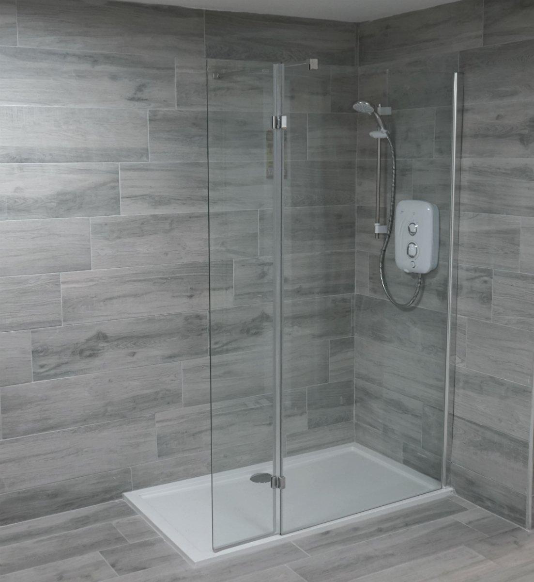 High Sierra Gris Grey Wood Look, Grey Wood Tile Bathroom